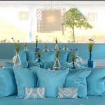 lounge azul - mini casamento - decoração de casamento Curitiba