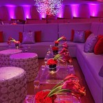 lounge com vermelho - mini casamento - decoração de casamento Curitiba