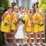 amarelo para madrinhas curitiba - mini casamento curitiba - decoração de casamento Curitiba