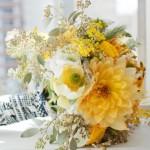 buque com flor amarela curitiba - mini casamento curitiba - decoração de casamento Curitiba