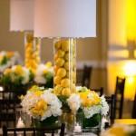 centro de mesa amarelo curitiba - mini casamento curitiba - decoração de casamento Curitiba