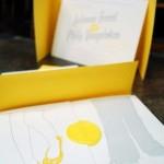 convite amarelo curitiba - minicasamento curitiba - decoração de casamento Curitiba