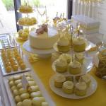doces amarelos curitiba - mini casamento curitiba - decoração de casamento Curitiba