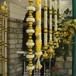 pendente amarelo curitiba - mini casamento curitiba - decoração de casamento Curitiba