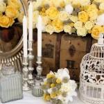 vintage amarelo curitiba - mini casamento curitiba - decoração de casamento Curitiba