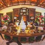 locacao cesto de flores casamento
